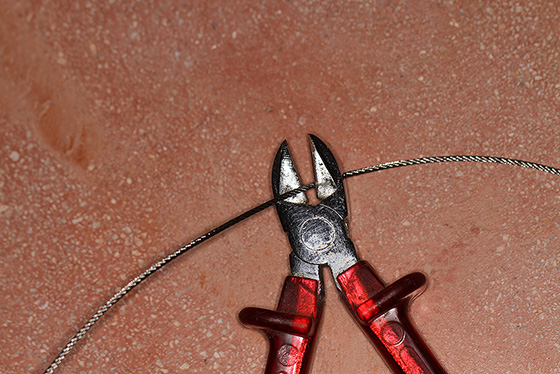 Seil auf passende Länge zuschneiden