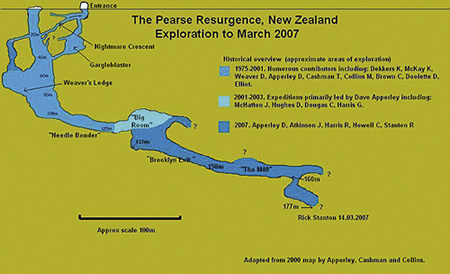 Pearse Resurgence map