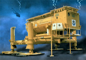 Aquarius Underwater Laboratory