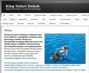 King Safari Diving