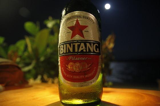 Beer: Bintang!