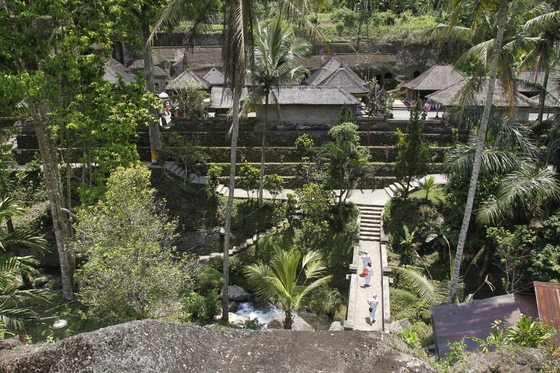 Temple area from above