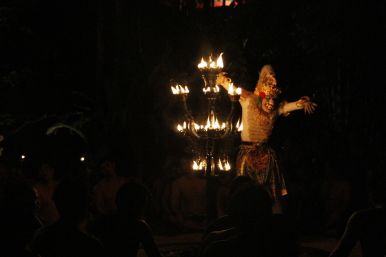 Monkey Dance Kecak - Fire Dance