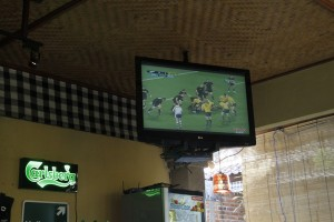 Rugby Semifinal New Zealand vs Australia